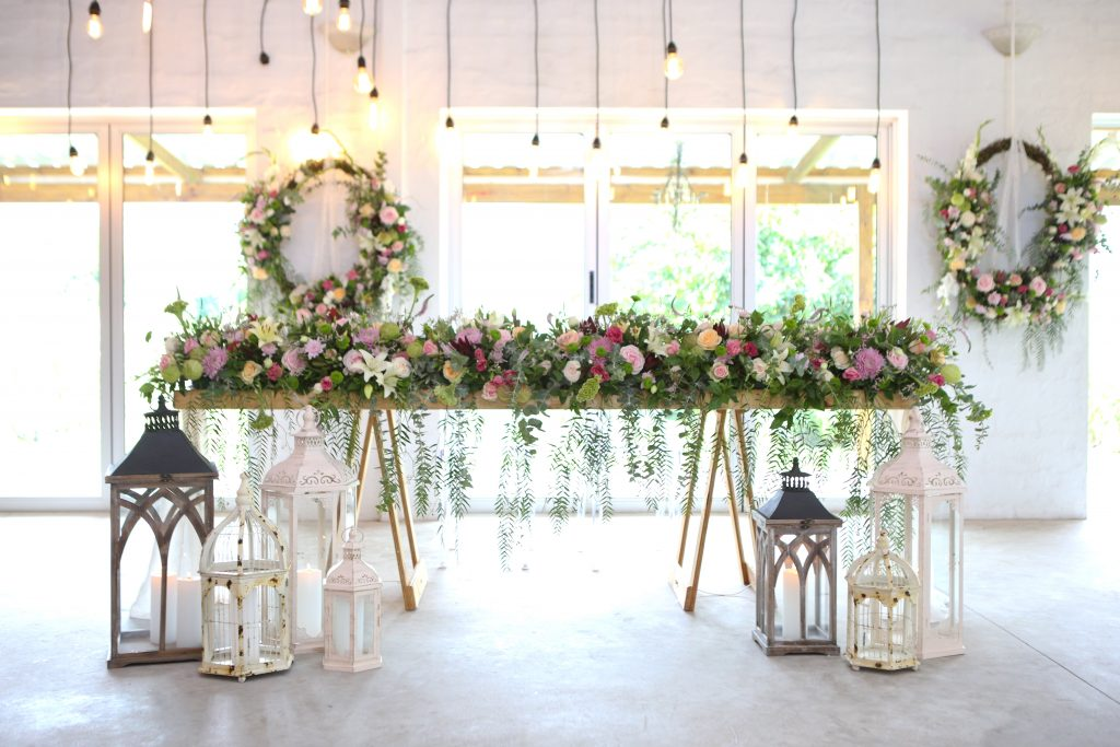 Bridal Table - Uitsig