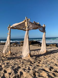 Gazebo and Draping at Delfinos